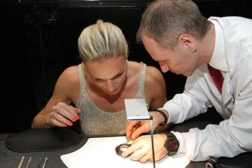 Watch Academy, WA - Watch Academy, Uhrenseminar, Hublot, Maria Hoefl-Riesch, Basel World, Uhrwerk, Uhren, VIP, Olympiasieger